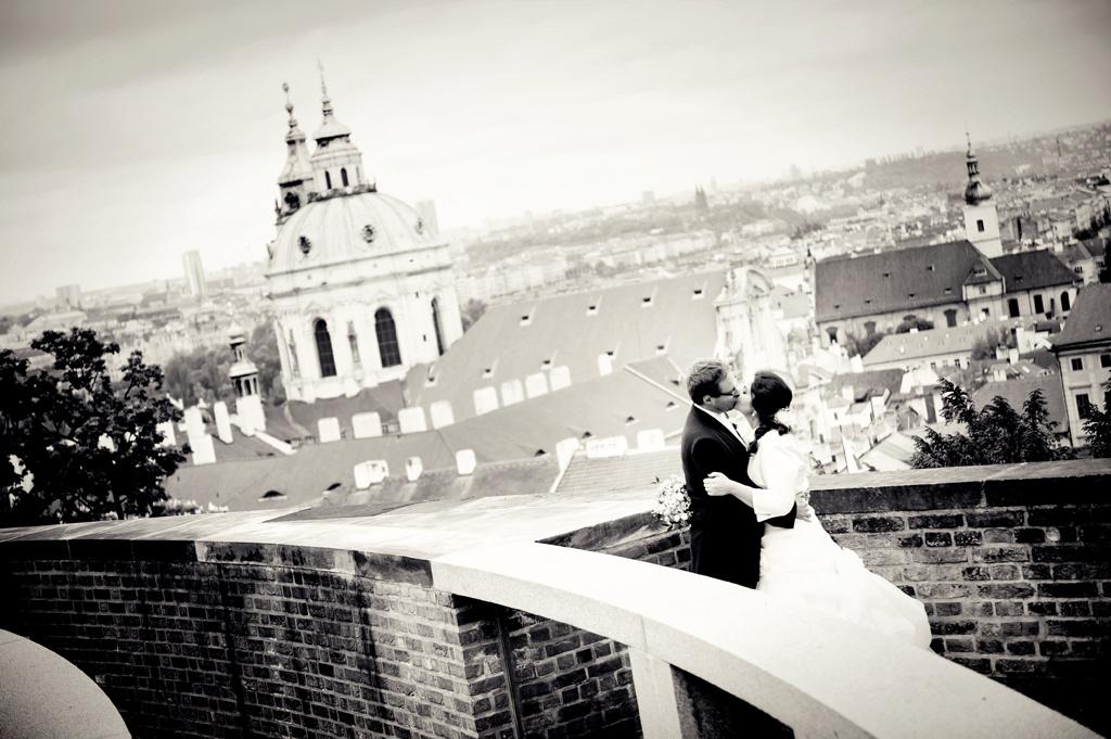 svatba Týnský chrám Praha