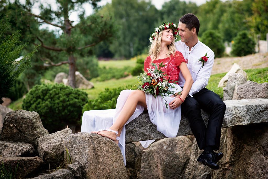 svatba v japonské zahradě Aizen v Říčanech