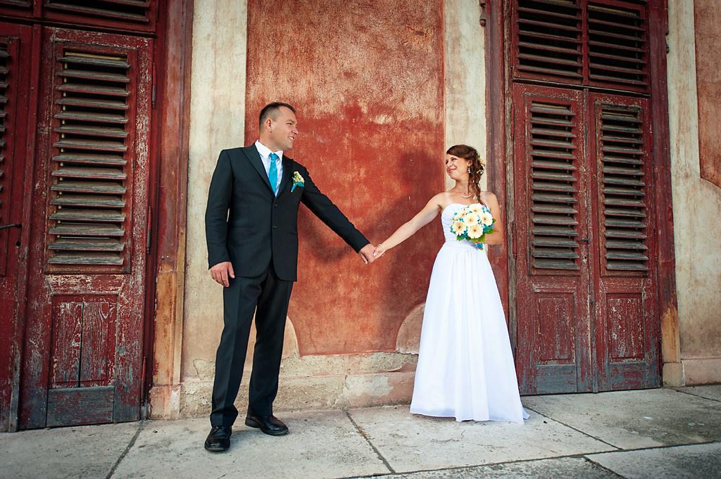 svatba zámek Libochovice