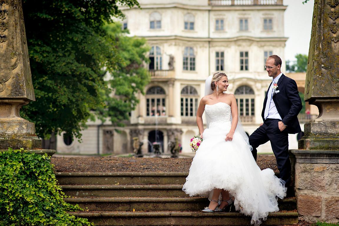 svatba zámek Ploskovice